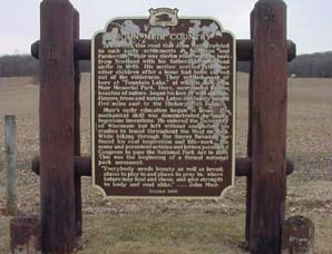 John Muir Historical Marker