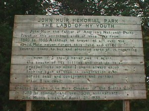 Sierra Club john Muir Sign